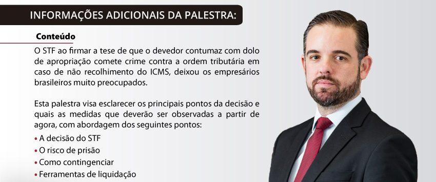 """Café com Empresários: """"A criminalização dos devedores tributários"""", dia 24/03 às 9:30hs – Rio de Janeiro/RJ"""