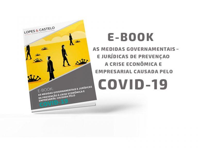 Escritório de advocacia lança e-book sobre medidas e prevenções contra a Covid-19