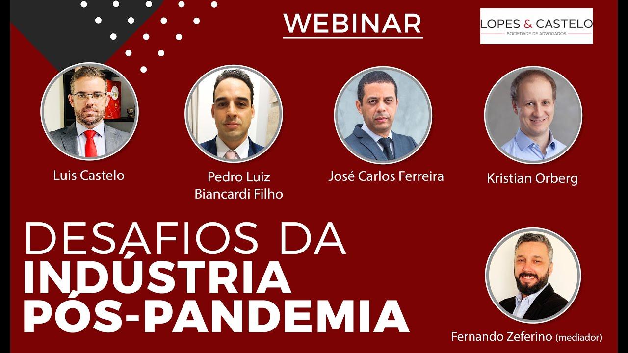 Webinar – Desafios da Indústria Pós Pandemia
