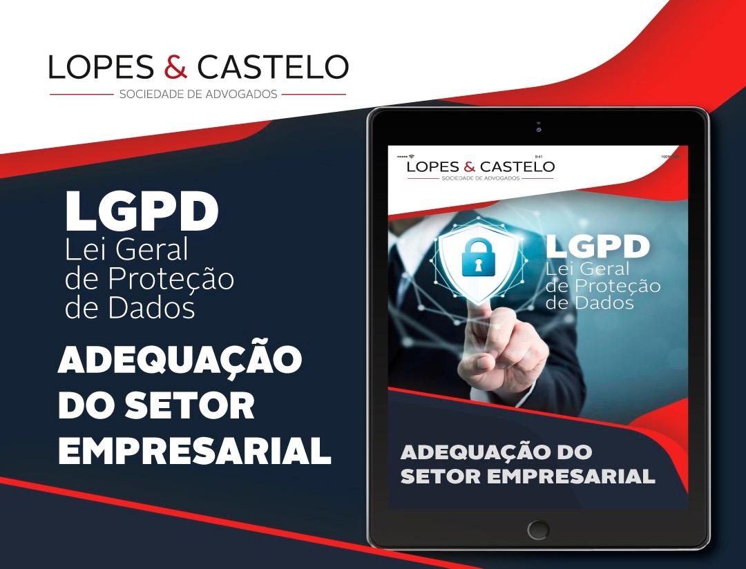 E-book – Lei Geral de Proteção de Dados – Adequação do setor empresarial