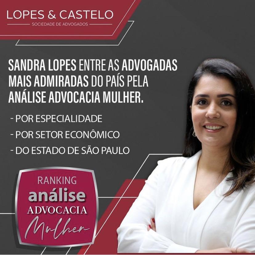 """Sandra Lopes – """"Advogada mais admirada"""" – Análise Advocacia Mulher"""