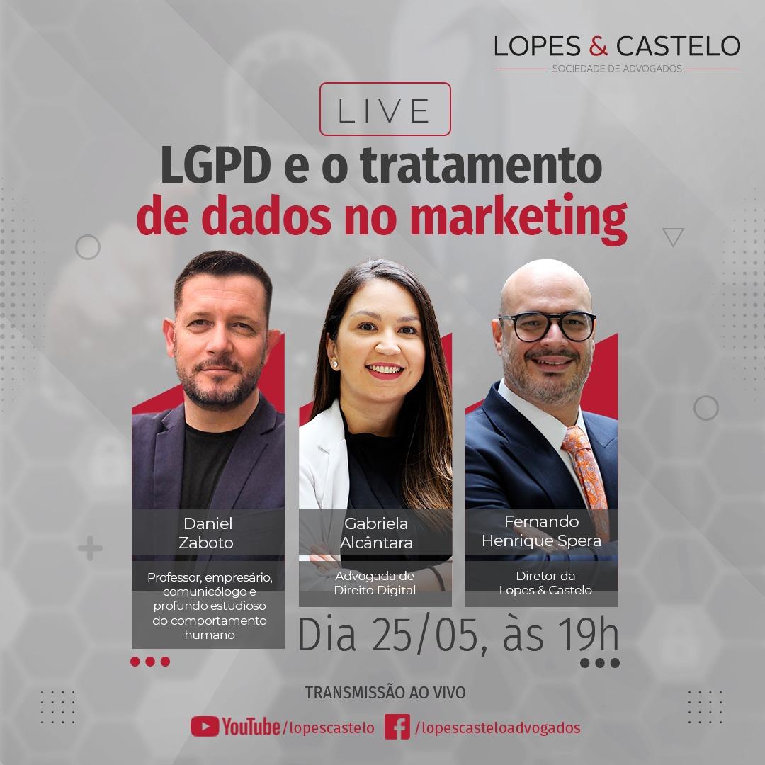 Live – LGPD e o tratamento de dados no marketing
